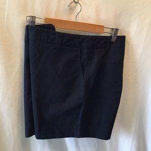 Ann Taylor Loft navy blue shorts, EUC, size 10